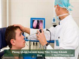 Phòng khám tai mũi họng Nha Trang Khánh Hòa