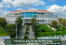 Trường cao đẳng dại học tại Nha Trang Khánh Hòa