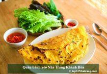 Quán bánh xèo Nha Trang Khánh Hòa