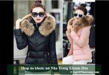 Shop áo khoác nữ Nha Trang Khánh Hòa